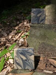 竹炭渲染母乳皂